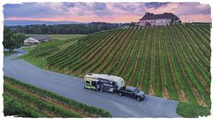 RV Outside Vineyard