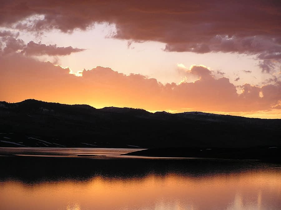 Strawberry Reservoir Sunset