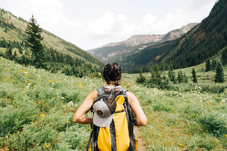 Girl Hiking Picture