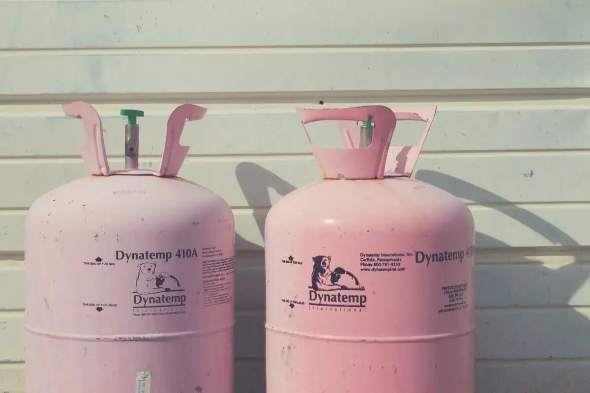 Pink Propane Tanks
